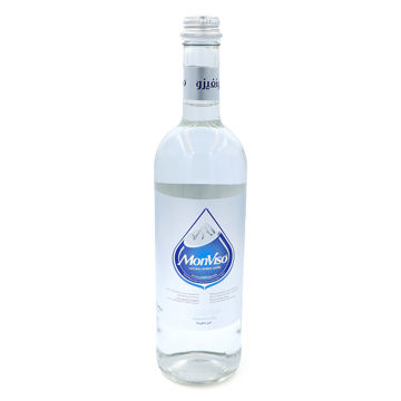 Picture of MonViso Natural Mineral Still Water, Glass Bottle, 750ml - Pack of 12