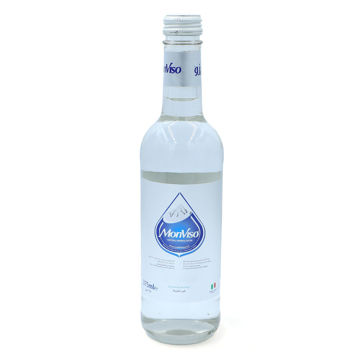 Picture of MonViso Natural Mineral Still Water, Glass Bottle, 375ml - Pack of 20