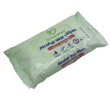 Picture of Clean & Care Antiseptic Alcohol Wet Wipes, 50 Wipes, Carton of 28 Pcs| 90 Cartons Per Pallet