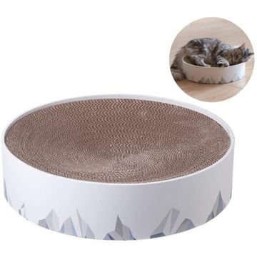 Picture of JD Pidan 2 in 1 Cat Scratching Pad & Lounge