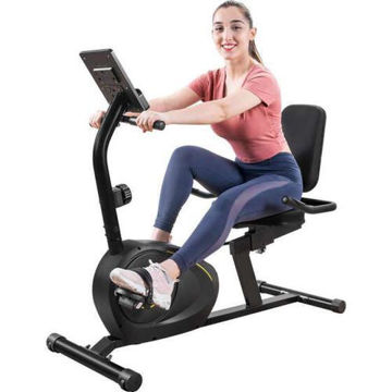Picture of JD Recumbent Exercise Bike with 8-Level Resistance