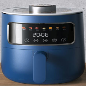 Picture of Weking Portable Air Fryer with Digital Display, Blue - KZ-3012