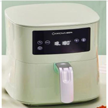 Picture of Weking Portable Air Fryer with Digital Display, White - KZ-4011