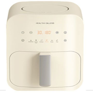 Picture of Weking Portable Air Fryer with Digital Display, Cream - KZ-4012