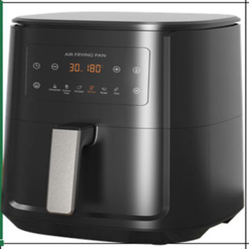 Picture of Weking Portable Air Fryer with Digital Display, Black - KZ-6012