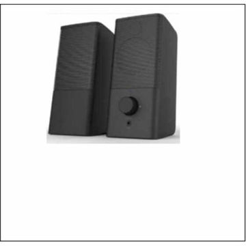 Picture of JD Stereo 2.0 Speakers, Black