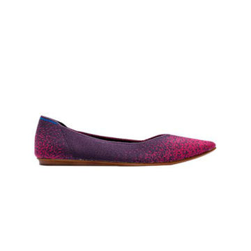 Picture of JD EEL Tencel flyknit lady Ballerina, Pink & Purple