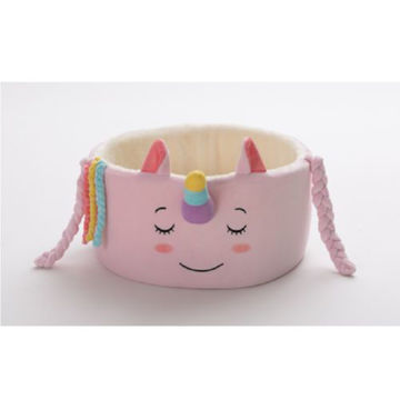 Picture of JD Unicorn Square Pet Bed, Pink