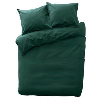 Picture of JD Cotton Duvet Cover Set - Dark Green