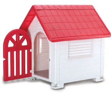 Picture of JD Wanyuanhong Dog Cage, Red & White