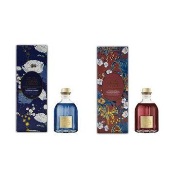 Picture of JD Elizabeth's Secret Ancient Flowers Series Aroma Diffuser, Sky Blue