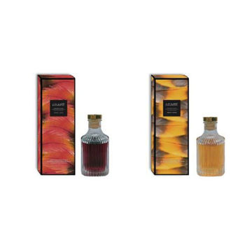 Picture of JD Wilderness Aristocratic Feather Aroma Diffuser Oil, Red and Yellow