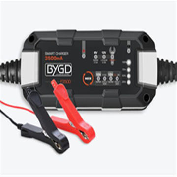 Picture of JD JoooDeee BYGD Car Battery Charger - Black, F3500