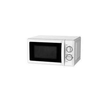 Picture of Weili Mechanical Knob Microwave Oven, White - 20 L
