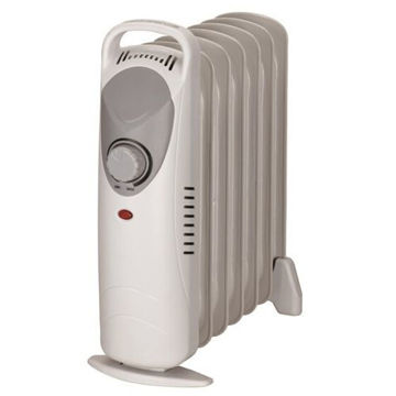 Picture of JD Electric Mini Oil Room Heater - Beige, DF-600H1-7