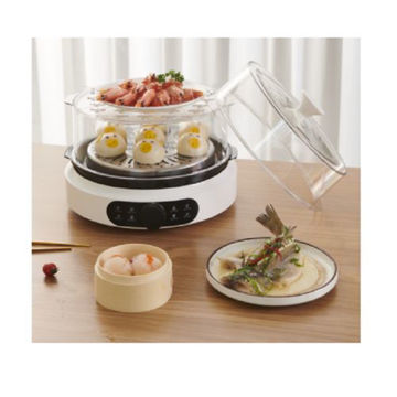 Picture of JD Multifunctional Electric Steamer, White