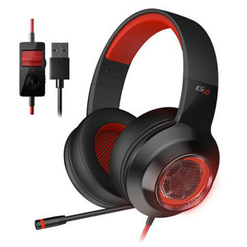 Picture of Edifier Gaming Headset- Black and Red