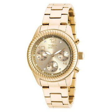 Picture of Invicta Women's 20266 Angel Quartz Chronograph Gold Dial Watch