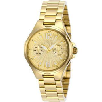 Picture of Invicta Women's 29149 Angel Quartz 3 Hand Champagne Dial Watch