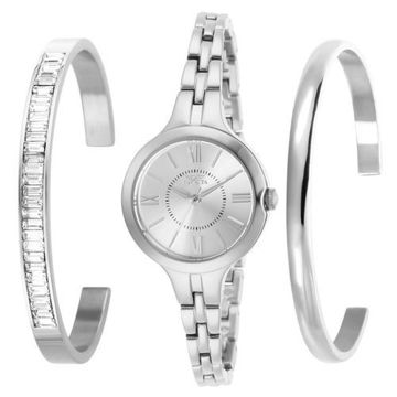 Picture of Invicta Women's 29339 Angel Quartz 3 Hand Silver Dial Watch