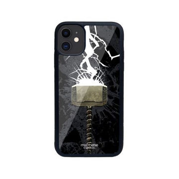 Picture of Macmerise The Thunderous Hammer - Glass Case for iPhone 11