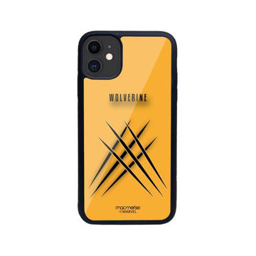 Picture of Macmerise Minimalistic Wolverine - Glass Case for iPhone 11