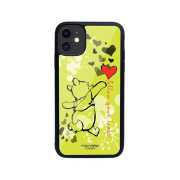 Picture of Macmerise Follow your Heart - Glass Case for iPhone 11