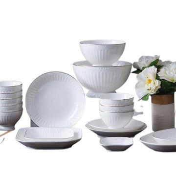 Picture of JD Arst Tableware Set - White, Set of 32