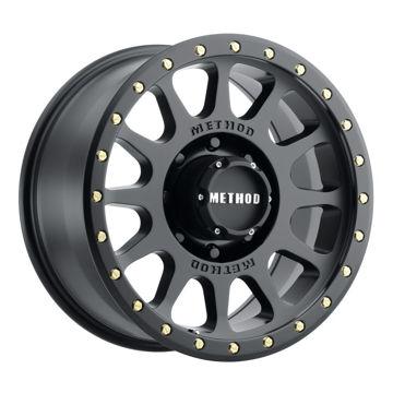 Picture of NV Street 300 Series Wheels, 18x9inch, Matte Black - Set of 4 Pcs