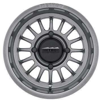 Picture of UTV 400 Series Wheels, 15x7inch, Gloss Titanium - Set of 4 Pcs