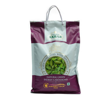Picture of Emperor Akbar Natural Green Indian Cardamom, 5kg - Carton Of 2 Pkts