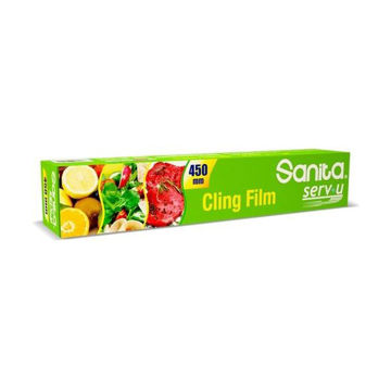 Picture of Sanita Serv-U Cling Film, 45cm x 200m - Carton Of 6 Pcs