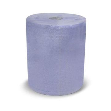 Picture of Sanita Serv-U Auto Cut 2-Ply Tissue Roll, Blue, 150m - Carton Of 6 Rolls