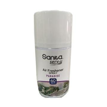 Picture of Sanita Serv-U Paradise Air Freshener Spray, 250ml - Carton Of 12 Pcs