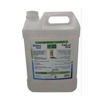 Picture of Sanita Serv-U Hand Gel Sanitizer, 5 Liters - Carton of 4Pcs