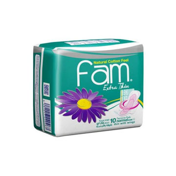 Picture of Fam Extra Thin Sanitary Pads- Carton Of 180 Pcs