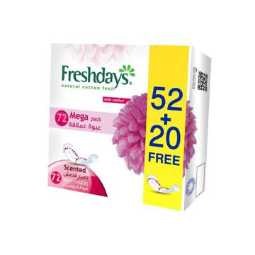 Picture of Fresh Days Daily Liners, Normal Scented - Carton Of 432 Pcs