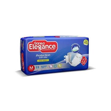 Picture of Sanita Elegance Adult Diapers, Medium - Carton Of 44 Pcs