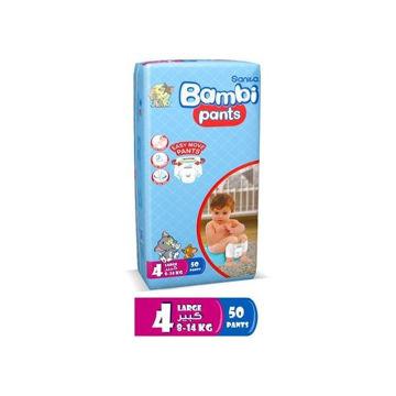 Picture of Sanita Bambi Diaper Pants Jumbo Pack, Large - Carton Of 150 Pcs