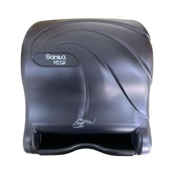 Picture of Sanita Serv-U Auto Cut Sensor Dispenser, Black