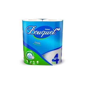 Picture of Sanita Bouquet Toilet Paper, 4 Rolls - Carton Of 12 Packs