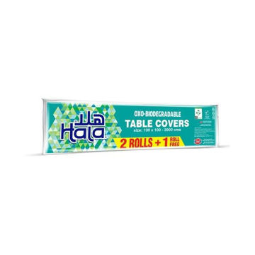 Picture of Hala Table Cover 2+1 Travel Pack - Carton Of 18 Packs