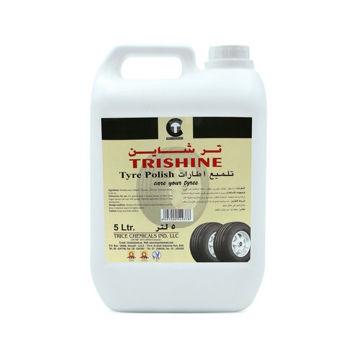 Picture of Thrill Trishine Tyre Polish, 5 Liter - Carton of 4 Pcs