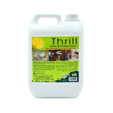 Picture of Thrill Green All Purpose Cleaner, 5 Liter - Carton of 4 Pcs
