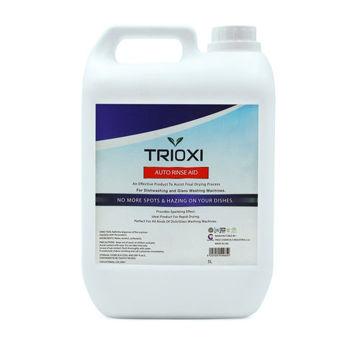 Picture of Trioxi Auto Rinse Aid Dishwasher Liquid, 5 Liter - Carton of 4 Pcs