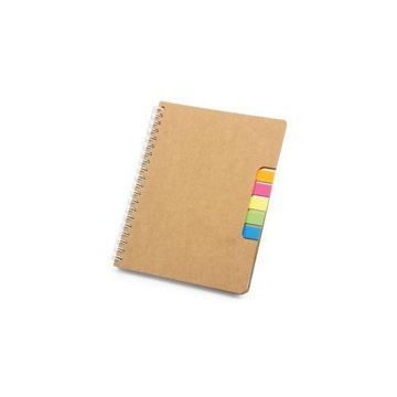 Picture of MTC Recycled Spiral Notebook - Brown