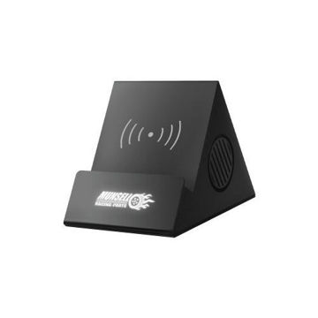 Picture of MTC Bluetooth Speaker with Wireless Charging - Black