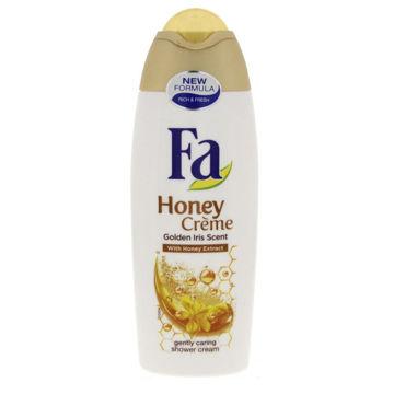 Picture of Fa Golden Iris Scent Honey Crème Shower Cream, 250ml - Carton of 12