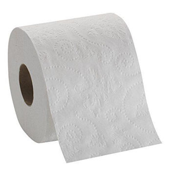 Picture of Plain Edge Embossed 2 Ply Toilet Roll, 120 Sheets - Carton of 100