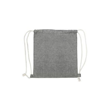 Picture of MTC Recycled Drawstring Bag - Grey